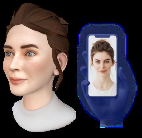 人工智能3D头像